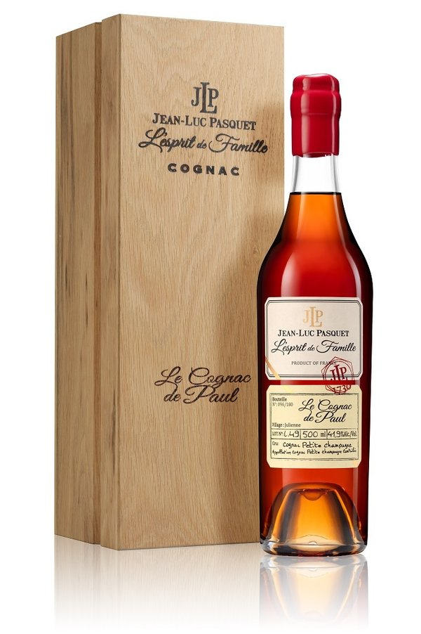 Cognac Pasquet - Le Cognac de Paul 1949 Wooden Box Limited Edition